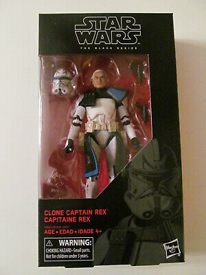 Star Wars: The Black Series - #59 Clone Captain Rex - 6-Inch - Sealed