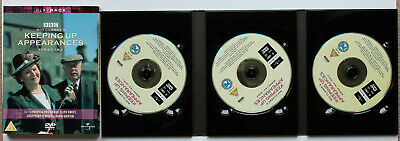 KEEPING UP APPEARANCES series 1 & 2.  R2 DVD Patricia Routledge