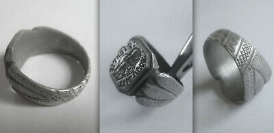 Medieval Knights Templar SIGNET ring from the Hungarian Province of the Order