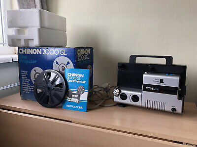 Cine Projector, Chinon 2000GL. Fully Working, FREE P&P.   Excellent condition