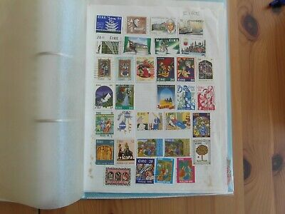 Ireland      Collection Lot On 4 Album Pages And Extra Loose