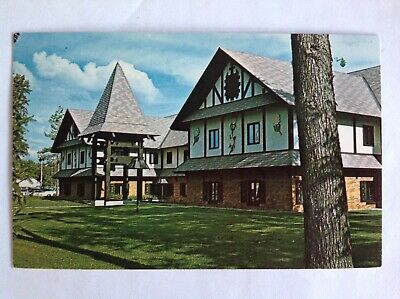 Gaylord Michigan~Alpine Village~City-County Building~ski capitol~chrome~Koppel