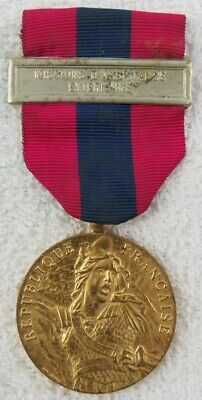France National Defense Medal - Exterior Operations Bar-1982