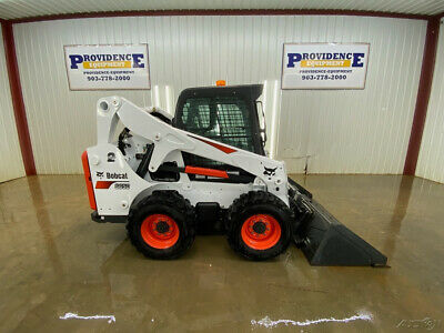 2018 Bobcat Cab S650 Wheeled Skid Steer Loader With Ac/Heat!
