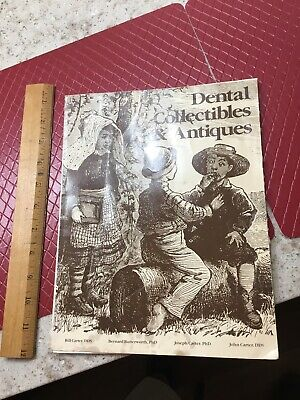 1984 Dental Collectibles & Antiques Book Price Guide Dentistry