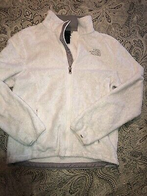 The North Face Fleece Jacket White Womens Small