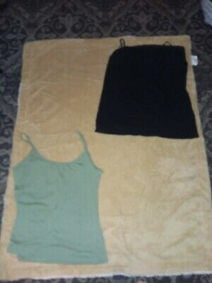 2 Old Navy & Bobby Brooks size XL cami shirt soft stretchy very good condition