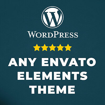 Any 10 Wordpress Themes and Plugins from Envato Elements ✅ FAST DELIVERY