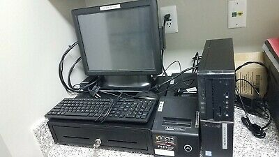Slightly Used Aldelo Restaurant POS System - Complete Set with 2 Printers
