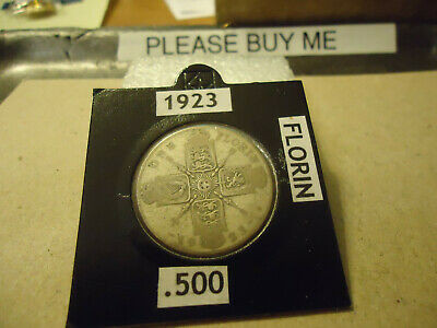 1923 British Florin.......  Check Your Album And Please Bid
