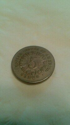 1867 Sheild Nickel With Rays , Great Condition See Pics !!!