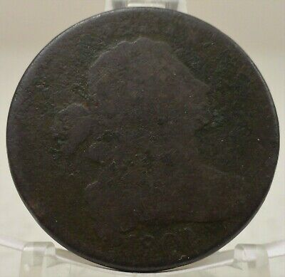 1801 draped bust, United States large cent, #68273-008