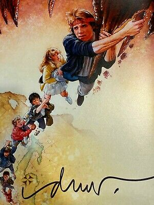 Goonies Reprint Poster Signed By Artist Drew Struzan