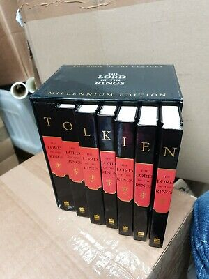 FULL SET 7 Millennium Edition The Lord of the Rings Tolkien Books collectors 99p