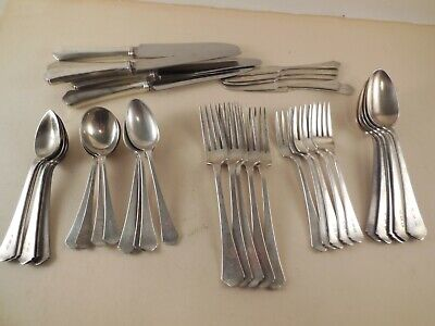 RWS Wallace Sterling Silver flatware,  40 pieces 5 - 8 place settings