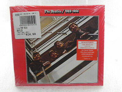 The Beatles - 1962-1966 (Red) [NEW CD] Rmst, Digipack Sealed