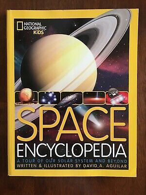 Space Encyclopedia: A Tour of Our Solar System and Beyond - Hardcover -Ex-Lib