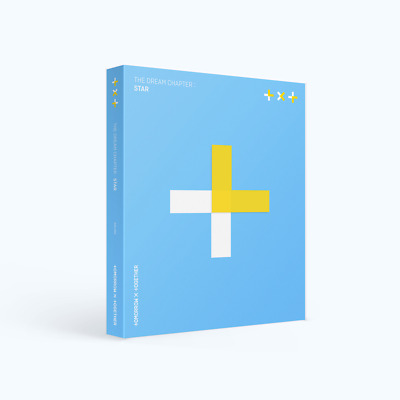 TOMORROW X TOGETHER TXT - THE DREAM CHAPTER : STAR CD+Poster+Gift+Tracking no.