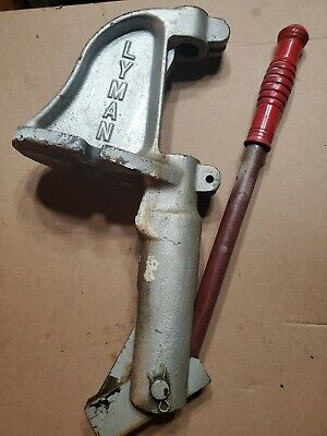 Vintage Lyman Spartan Reloading Press with Instructions.