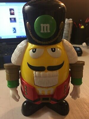 Vintage M&M's Holiday Nutcracker Candy Dispenser - Works