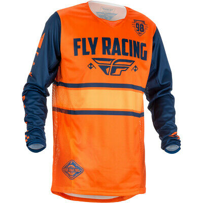 Fly Racing Jersey Kinetic Era Orange/Navy