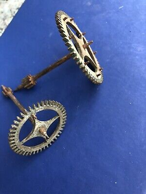 Grand Father Clock Cogs Parts