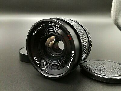 [ N MINT ] CONTAX Carl Zeiss Distagon T* 35mm F/2.8 AEJ Lens for C/Y Mount JAPAN