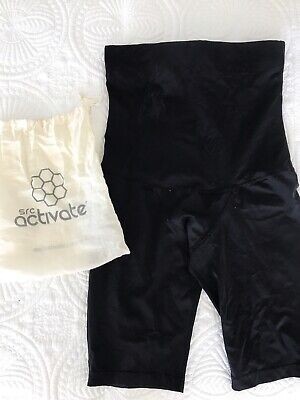 SRC Recovery Shorts Size XL Compression Wear Black Maternity Ab Separation