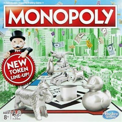 Monopoly Classic. New token line up board game. Brand new and sealed