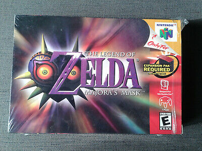 Nintendo 64-The Legend of Zelda Majora's Mask Collector's Boxed edition Neuf/New