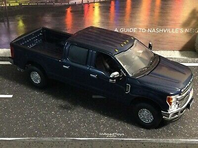 First Gear  Ford F-250 Super Duty Pickup  Blue Jeans color   1//50 scale