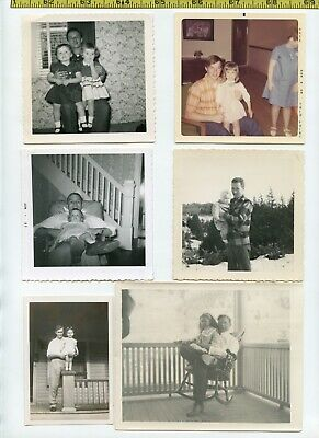 (15) Vintage photo lot / FATHERS & DAUGHTERS Daddy's Girl OLD SNAPSHOTS 1910-70