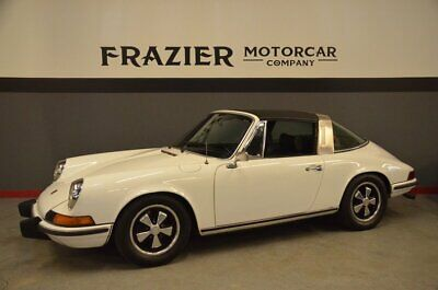 1973 Porsche 911 T  Rock Solid Blue Plate Santa Barbara California long time owner early 73 911 T
