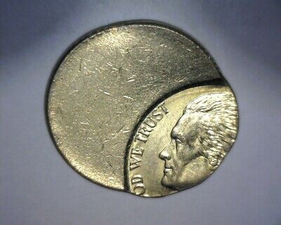 Jefferson Nickel, 85% Off Center, Beeee-Uuu-Ty !  Us Error Coin