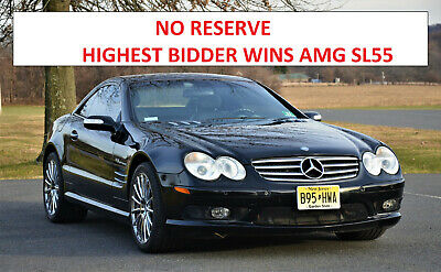 2004 Mercedes-Benz SL-Class NO RESERVE, HIGHEST BIDDER WINS NO RESERVE, HIGHEST BIDDER WINS