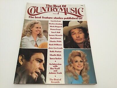 Vintage BEST OF COUNTRY MUSIC volume 1 magazine 1974 DOLLY PARTON Johnny cash