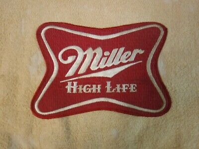 VINTAGE MILLER HIGH LITE 8 1/2 x 6 INCHES PATCH