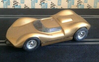 Vintage Scalextric 1960'sAMT 1/32 LOTUS 30 RARE metal chassis slot car
