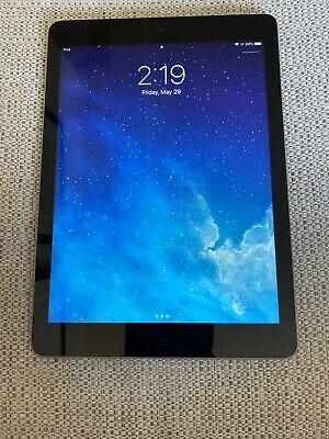 Apple iPad Air 1st Gen. 64GB, Wi-Fi, 9.7in - Black (Very Good Condition)