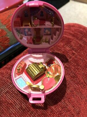 Vintage Bluebird Polly Pocket 1992 Pink Jewelled India