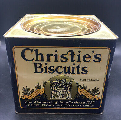 Christie's Biscuits - Vintage Tin Ca 1920
