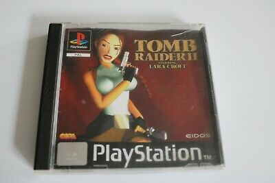 JEU VIDEO pour SONY PLAYSTATION 1 lara croft TOMB RAIDER 2 PS1 EIDOS