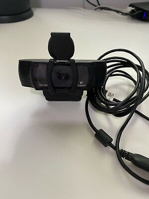 Logitech HD C920 Pro Webcam - Black With Privacy Shutter