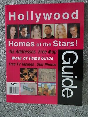 Hollywood Stars Guide To Actors Addresses & Map