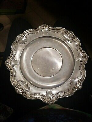 Vintage Gorham chantilly duchess Sterling Silver Serving Plate Tray #746