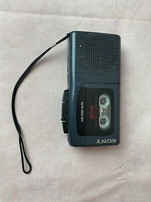 Sony M-507V Microcassette-corder VOR Voice Operated Recording