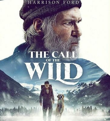 The Call of the Wild Movie Blu Ray Disc No Case/Cover Art NEW w/ Harrison Ford