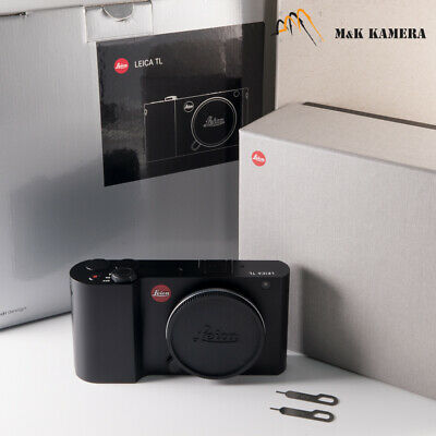 Leica TL Digital Mirrorless Interchangeable Lens Black Camera #907