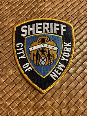 City Of New York Sheriff Patch