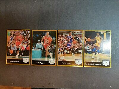 1991/92 Sports Educational MICHAEL JORDAN insert card THE LAST DANCE PLUS PIPPEN